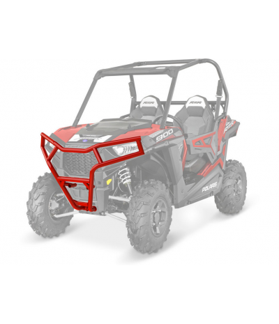 RED FRONT DELUXE BUMPER BY POLARIS