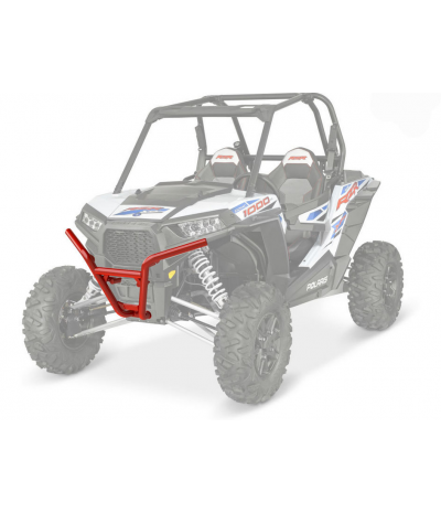 RED FRONT LOW PRO BUMPER BY POLARIS