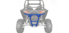 BLUE REAR LOW PRO BUMPER BY POLARIS