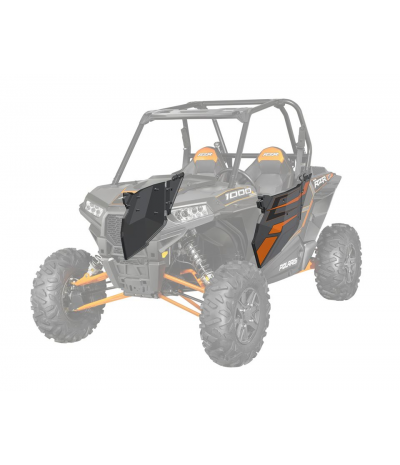 RZR® XP 1000 ALUMINUM DOOR GRAPHICS - ORANGE TITANIUM