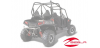 RZR 800, 800 4 REAR ALUMINUM BRUSHGUARD BY POLARIS
