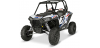 RZR® XP 1000 ALUMINUM DOOR GRAPHICS - WHITE LIGHTNING II