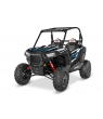 RZR S 900 GRAPHICS WRAP KIT - BLUE DRAGON (FOR POLY DOORS)