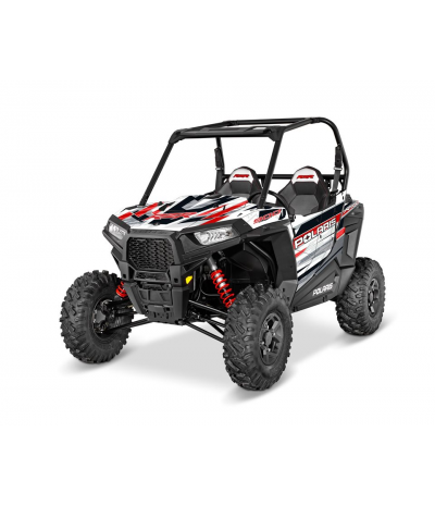 RZR S 900 GRAPHICS WRAP KIT - RED RACE (FOR ALUMINIUM DOORS)