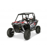 RZR XP 1000 GRAPHICS WRAP KIT - RED RACE (FOR POLY DOORS)