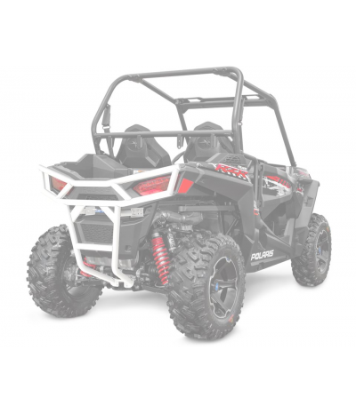 "BLACK FRONT 1.5"" BUMPER BY POLARIS"