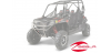 RZR 570, 800, 900 ALUMINUM FRONT BRUSHGUARD BY POLARIS