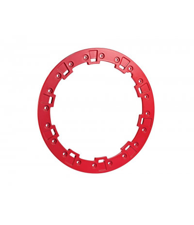 "15"" FORGE BILLET RING - INDY RED"