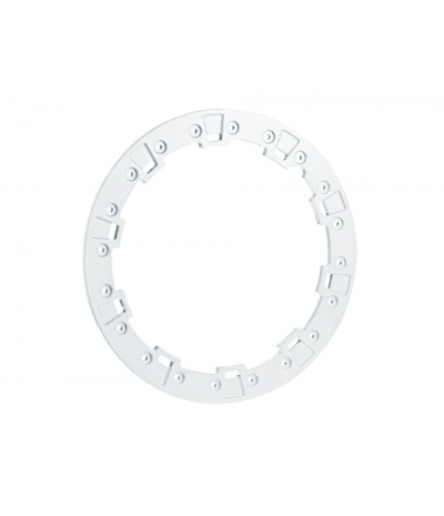 """14"""" STAMPED BILLET FORGED WHITE RING BY POLARIS"""