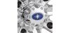 CENTER CAP - TITANIUM (HEXLR WHEELS)
