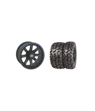"WREC LUSTER 14"" RIM WITH SEDONA RIPSAW TIRE KIT"