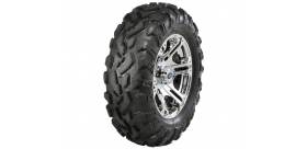 "SIXR 14"" LUSTER RIM WITH ITP BAJA CROSS TIRE KIT"