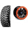 "REBLR 14"" BLACK RIM / MOTO CRAWLERS 14"" TIRE KIT"