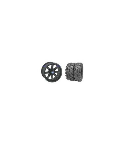 "VADER 14"" LUSTER RIM & MOTO MUD TIRE KIT"
