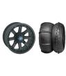 """WREC 14"""" BLACK RIM & STI V-ROLL TIRE KIT"""