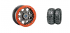 "HEXLR 15"" TITANIUM RIM & MOTO HAMMER TIRE KIT"