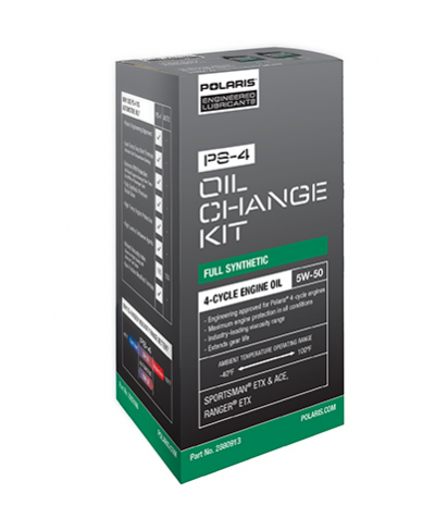 PS-4 OIL CHANGE KIT (Sportsman® ETX, Sportsman ACE™, Ranger® ETX)