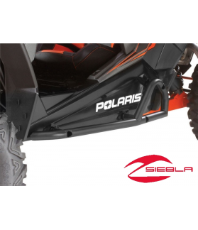 RZR XP 1000 BLACK EXTREME KICK-OUT STEEL ROCK SLIDERS BY POLARIS