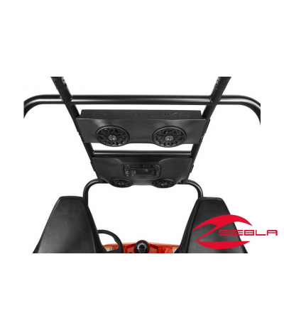 RZR 800 4, 900 4 OVERHEAD AUDIO SYSTEM W/ LED LIGHTING BY POLARIS