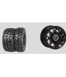 "THRASHR® 14"" LUSTER RIM & MOTO ATTACK TIRE KIT"