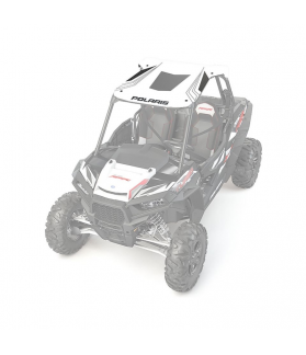 RZR GRAPHIC SPORT ROOF - BRIGHT WHITE BY POLARIS