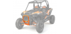 BULL BUMPER FRONT (SPECTRA ORANGE) BY POLARIS RZR