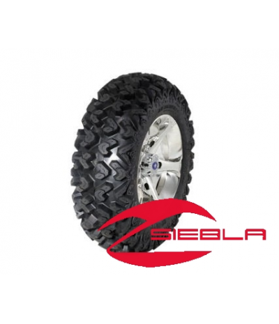 "VADER LUSTER 14"" RIM WITH SEDONA RIPSAW TIRE KIT"