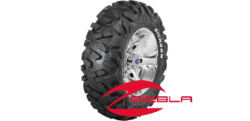 """VADER 14"""" LUSTER RIM WITH MAXXIS BIGHORN TIRE KIT"""