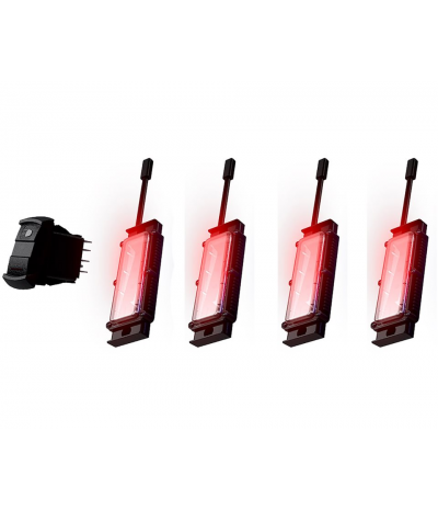 ACCENT LIGHTING KIT - RED BY POLARIS