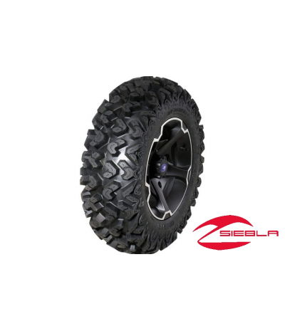 "VADER 14"" RIM WITH SEDONA RIPSAW TIRE KIT"