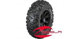 "WREC 14"" RIM WITH MAXXIS BIGHORN TIRE KIT"
