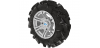 PRO ARMOR DAGGER TIRE WITH SIXR WHEEL- MACHINED