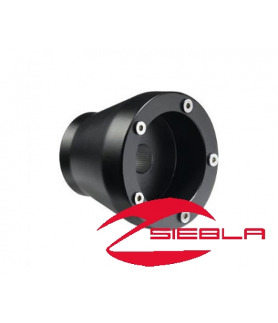 BLACK STEERING WHEEL HUB