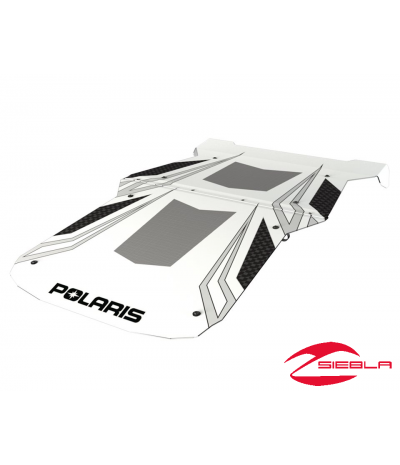 RZR FOUR PASSENGER GRAPHIC SPORT ROOF- BLACK BY POLARIS