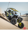 RZR® Fortress™ Custom Cage Rear Extension - Black By Polaris