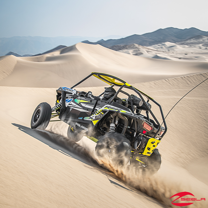 Rzr 174 Fortress Custom Cage Rear Extension Black By