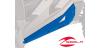 ESTRIBERAS DE PERFIL BAJO DE POLARIS RZR XP 1000 4 PLAZAS (VELOCITY BLUE)