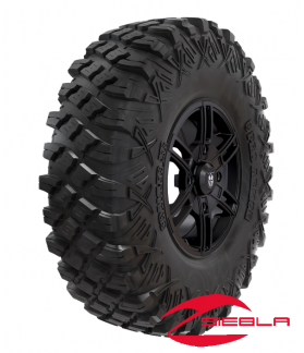 "Wheel & Tire Set: Pro Armor® Crawler XR 32"" & Wyde- Matte Black"