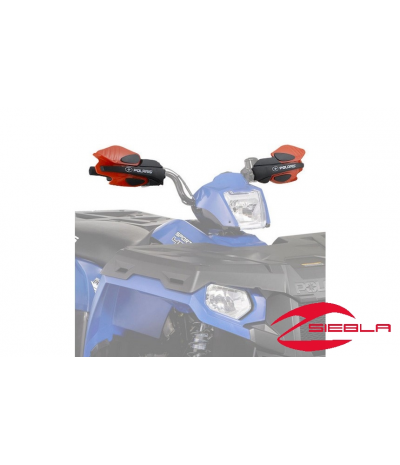 RED HANDGUARDS FOR ALL SPORTSMAN MODELS BY POLARIS