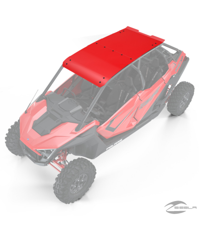 4-Seat Aluminum Roof, Indy Red