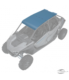4-Seat Aluminum Roof, Zenith Blue