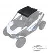 2-Seat Light Pocket Aluminum Roof, Matte Black