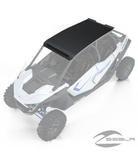 4-Seat Light Pocket Aluminum Roof, Matte Black