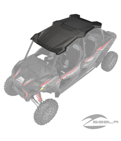 TECHO Poly 4 Seat Sport Roof, Black