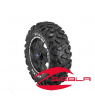 "8 SPOKE XP 14"" RIM WITH MAXXIS BIG HORN TIRE KIT"