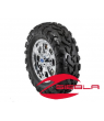"8 SPOKE XP 14"" RIM WITH ITP BAJA CROSS TIRE KIT"