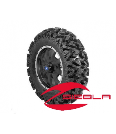 "8 SPOKE XP 14"" RIM WITH SEDONA RIPSAW TIRE KIT"