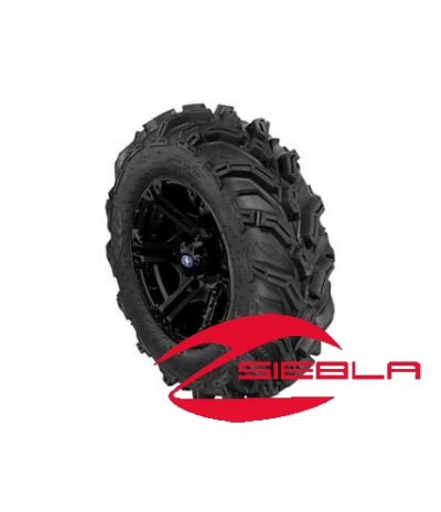 "SIXR 14"" BLACK RIM WITH ITP MUD LITE XTR TIRE KIT"