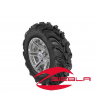 "SIXR 14"" MACHINED RIM WITH ITP MUD LITE XTR TIRE KIT"