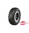 "REBLR 14"" FLAT BLACK BEADLOCK WHEEL W/ ITP BAJA CROSS TIRES"